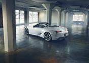 Lexus LC Convertible Concept Rear High 2