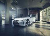 Lexus LC Convertible Concept Rear High 3