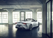 Lexus LC Convertible Concept Rear Passenger