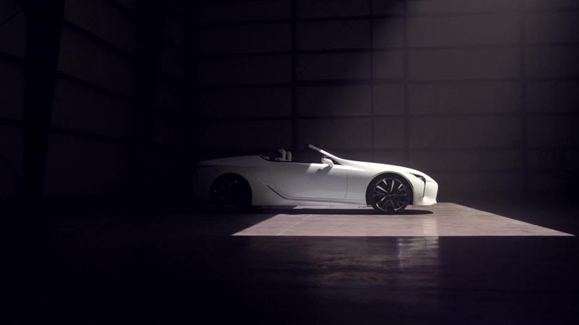 Lexus LC Convertible Concept NAIAS
