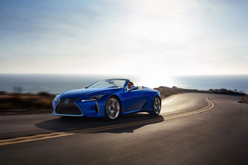 2021 Lexus LC 500 Convertible 07