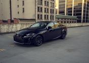 Lexus IS Black Line 09