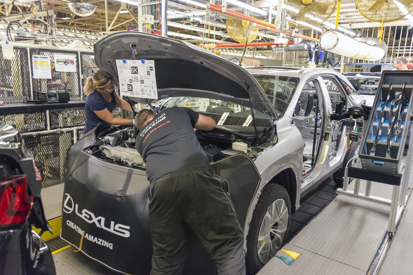 Lexus Production in Canada 2