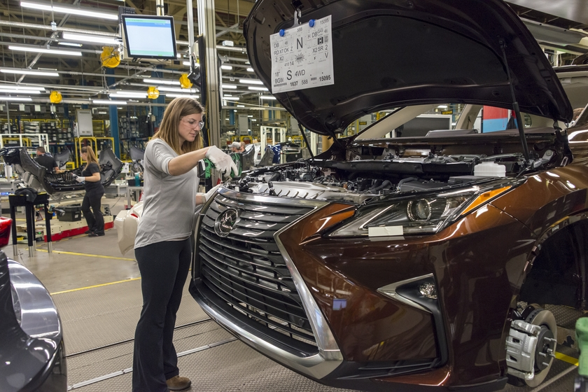 Lexus Production in Canada