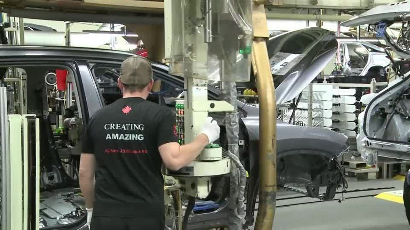 Lexus Production in Canada B-roll