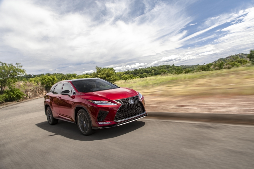 2020 Lexus RX 350 MC Matador Red-Black 25