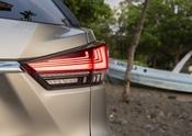 2020 Lexus RX450 H 3row Atomic Silver Noble Brown MC 22