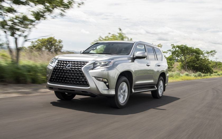 2020 Lexus GX460 Atomic Silver Rioja Red MC 16