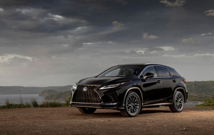 2020 Lexus RX 350 MC Matador Red-Black Black