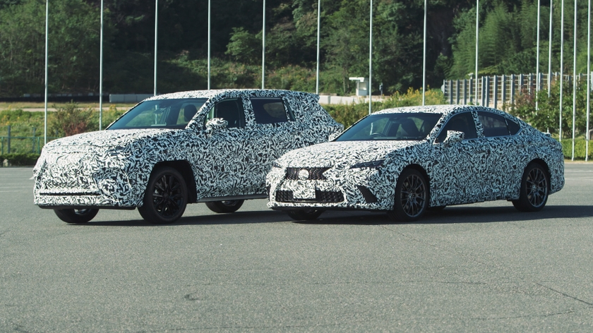 Lexus Kenshiki December2020 HEV and BEV Prototypes