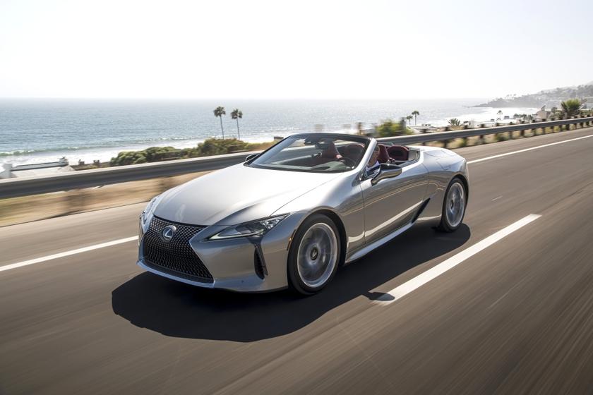 2021 Lexus LC Convertible 13