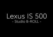 MY22 Lexus IS 500 Studio B_ROLL