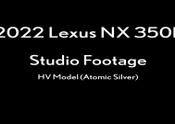 2022-Lexus-NX-350h-HV-Model-Atomic-Silver-Studio-Footage