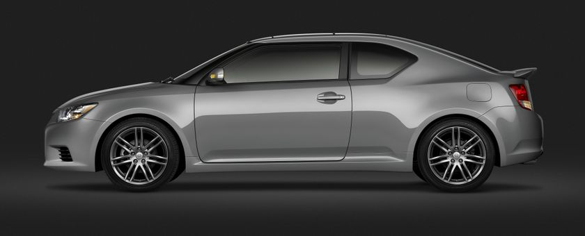 2011 Scion tC Cement Profile with Spoiler