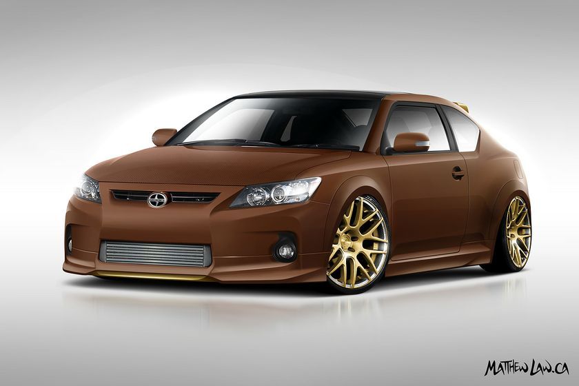 Team TDS Auto Group - 2011 Scion tC design