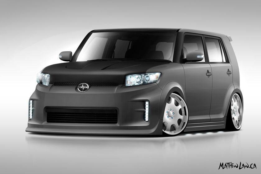 SR Auto Group - 2011 Scion xB design
