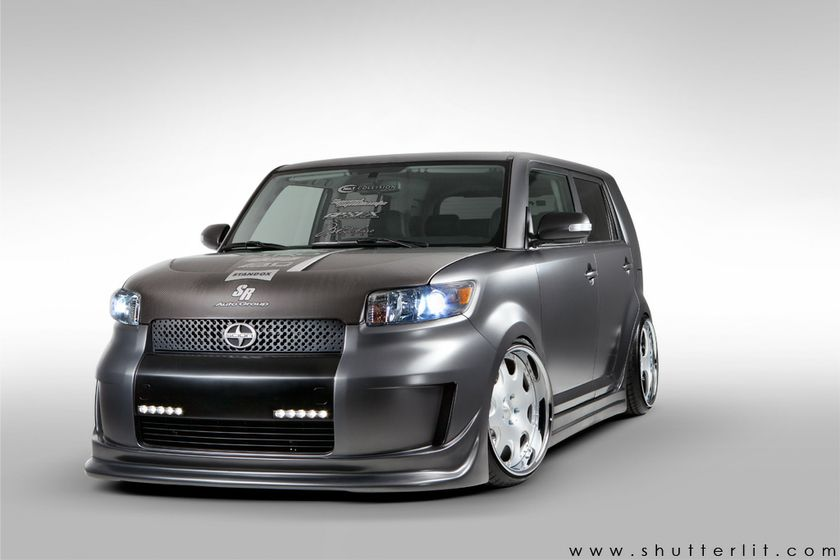 Champions « Project Anarchy » Tuner Challenge du Canada Scion xB