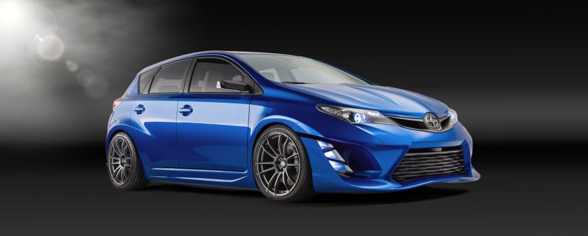Scion iM Concept Filter