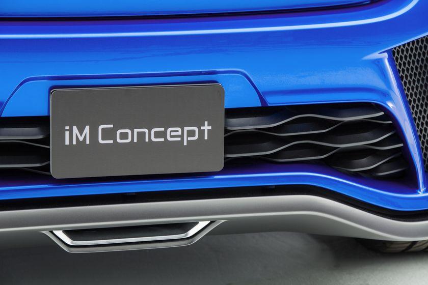 Scion iM concept plate