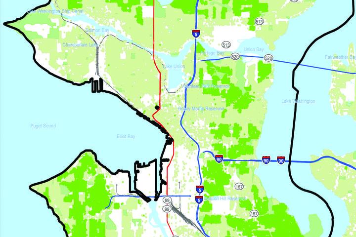 CenturyLink 1 Gigabit Internet and Prism TV Service Availability, City of Seattle