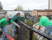 CenturyLink employees celebrate company's 85th anniversary through volunteerism