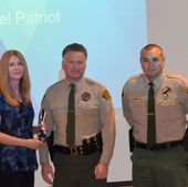 CenturyLink Utah Safety Person of the Year Award Regina Nelson Tooele County 2