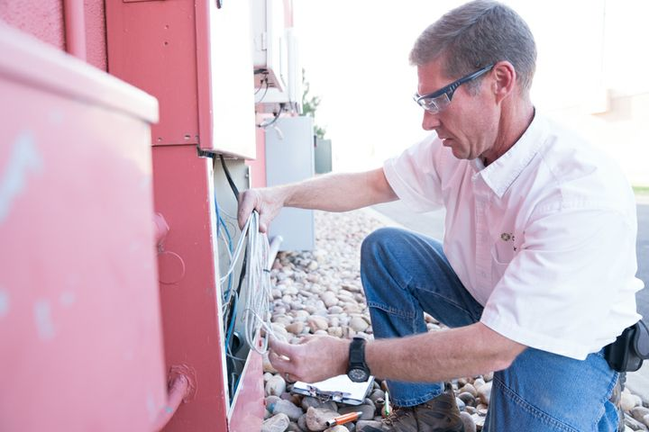 Multi-tenant unit fiber install