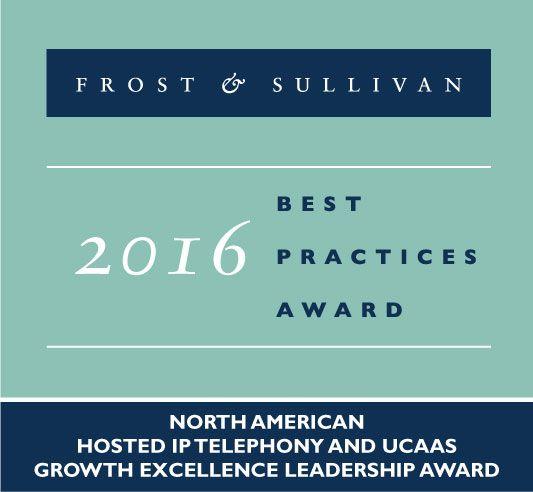 Frost & Sullivan 2016 Best Practices Award