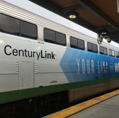 "CenturyLink is presenting sponsor of the Amtrak ""Winter Park Express"""