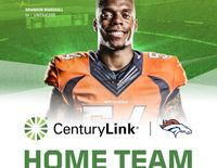 Denver Broncos linebacker Brandon Marshall signs endorsement deal with CenturyLink