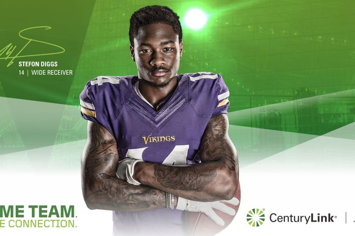 Stefon Diggs, Minnesota Vikings wide receiver