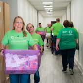 CenturyLink employees, communities deliver school supplies to students impacted by flooding in south Louisiana