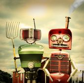 Robot Farmers by Raul Gomez