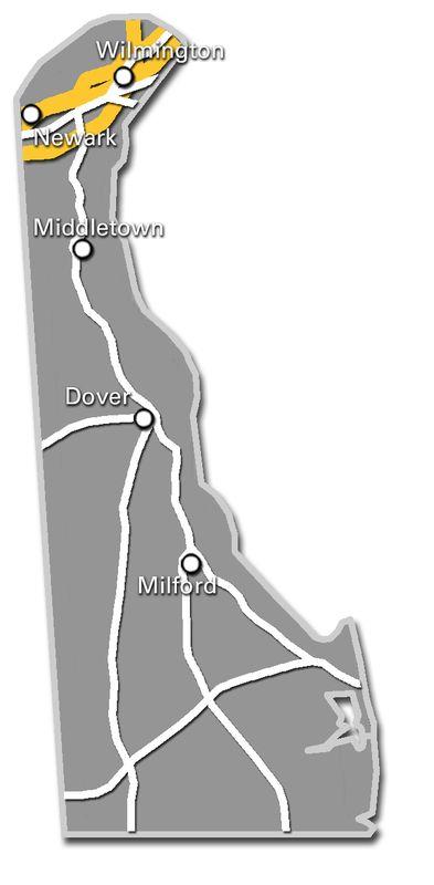 Delaware Service Map 2017