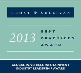 HARMAN Receives Global Industry Leadership Award for In-Vehicle Infotainment