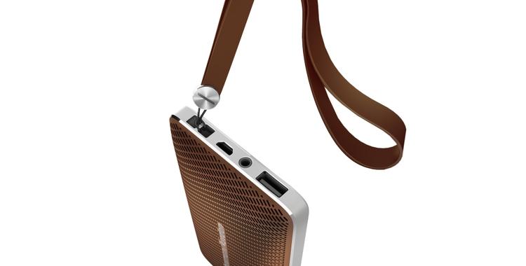 Harman Kardon Esquire Mini Brown with String