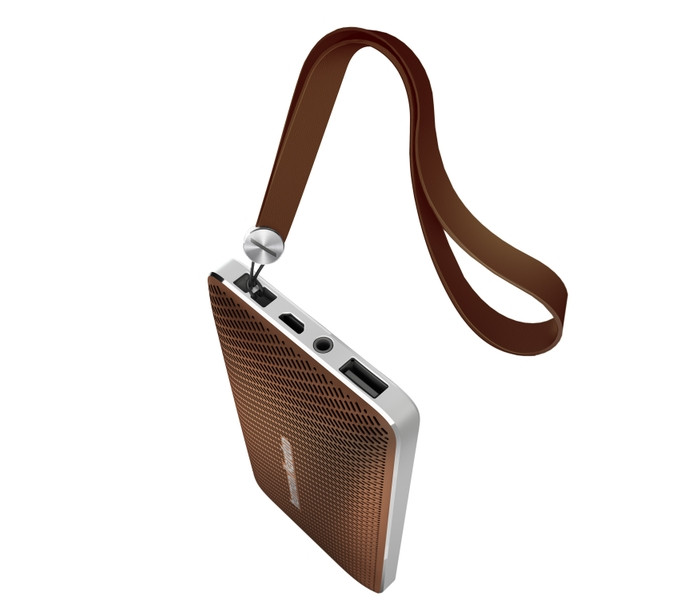 Harman Kardon Esquire Mini Brown with String