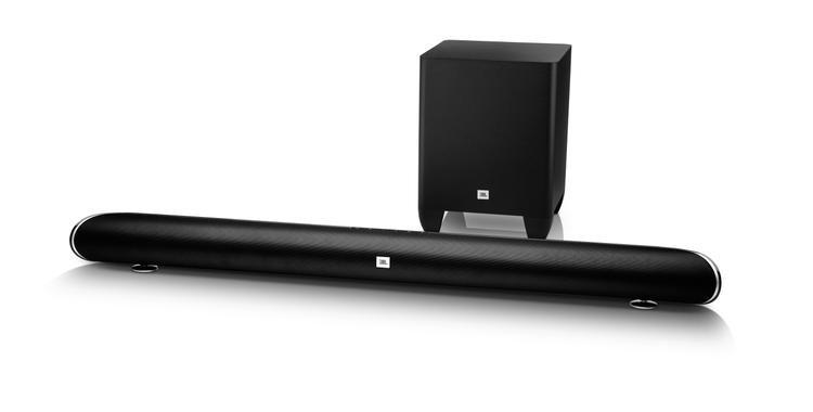 JBL Soundbar and Sub front