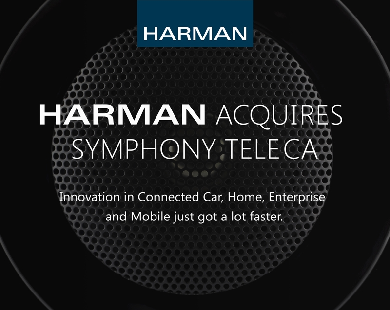 HARMAN Acquires Symphony Teleca