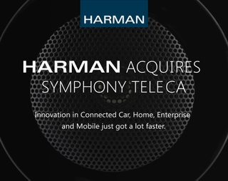 HARMAN Completes Acquisition of Symphony Teleca