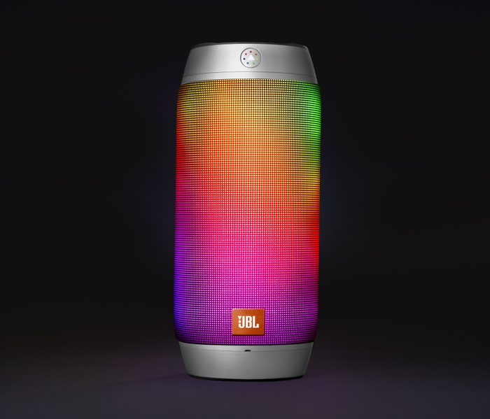 JBL Pulse 2 Silver - Rainbow