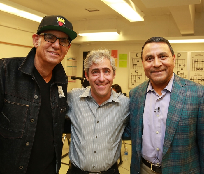 Liberty Devito, David Wish, Dinesh Paliwal