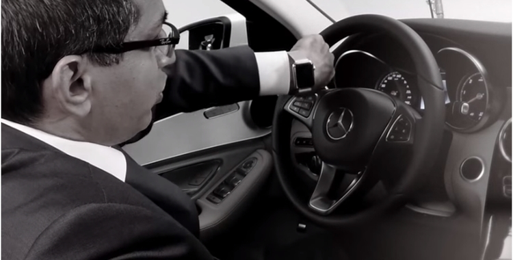 HARMAN Enables Mercedes-Benz to Keep Drivers Connected With Seamless Apple Watch App Integration