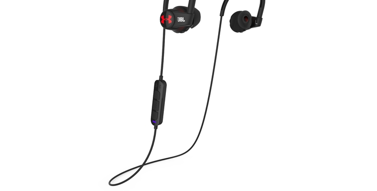 UA Headphones Wireless Heart Rate by JBL