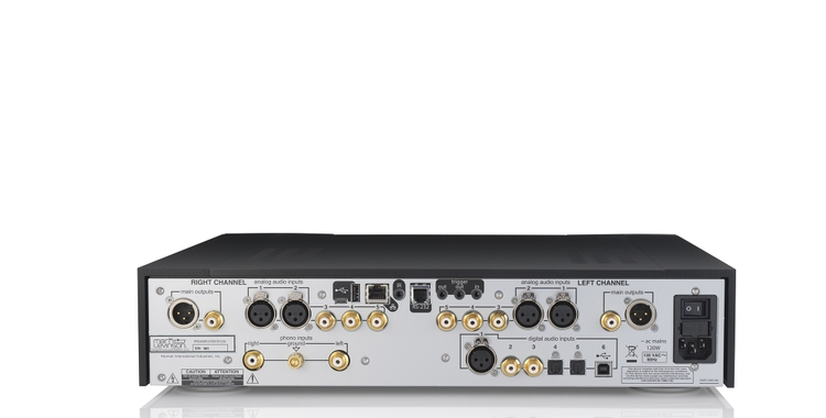 Mark Levinson 526 PreAmplifier Back