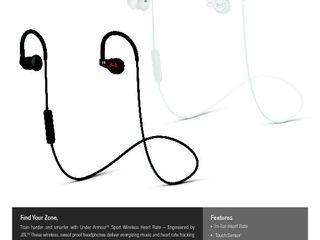 JBL UA Sport Wireless Heart Rate_Spec Sheet