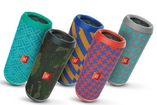 JBL® Presents Update To Successful Portable Speaker Line Up:  Give Voice To Your Style And Music!
