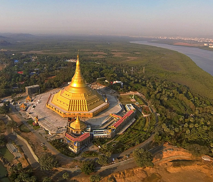 Bringing acoustic harmony to India's Global Vipassana Pagoda, the world's largest stone dome