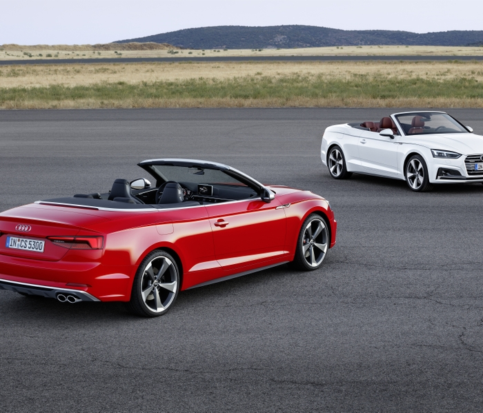 Bang & Olufsen 3D Sound System in the new Audi A5 Cabriolet