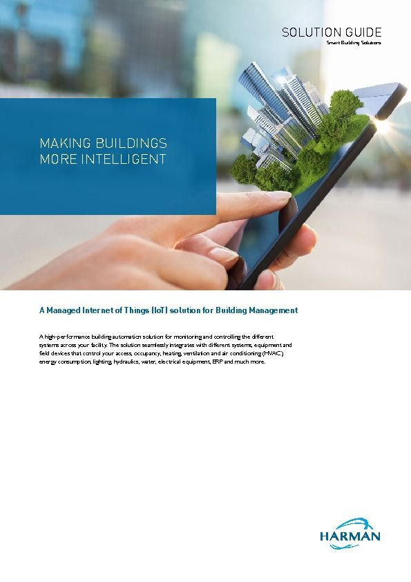 HARMAN - Smart Buildings - Brochure